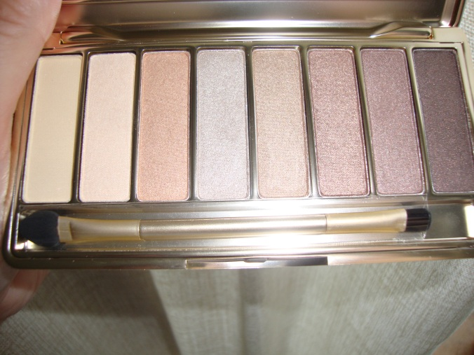 the nude palette